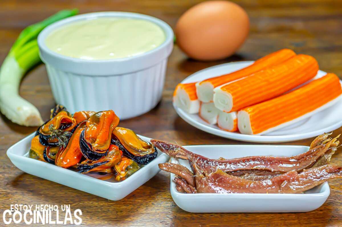 Paté de marisco (ingredientes)