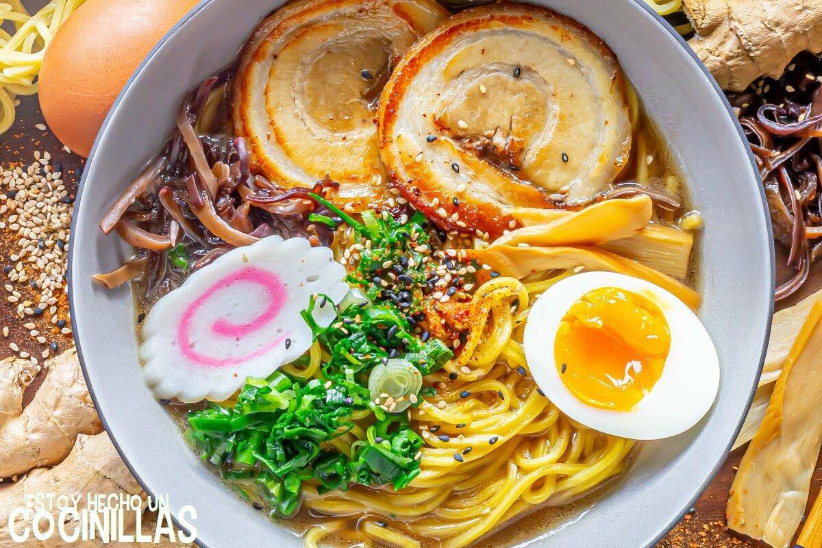 Ramen japonés casero. Cómo hacer ramen en casa.