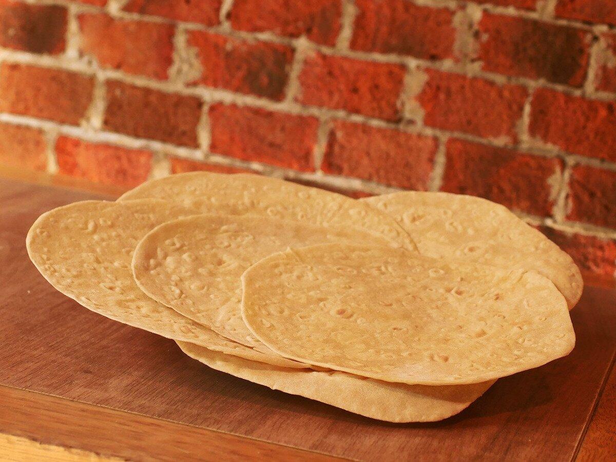 Tortillas mexicanas para tacos