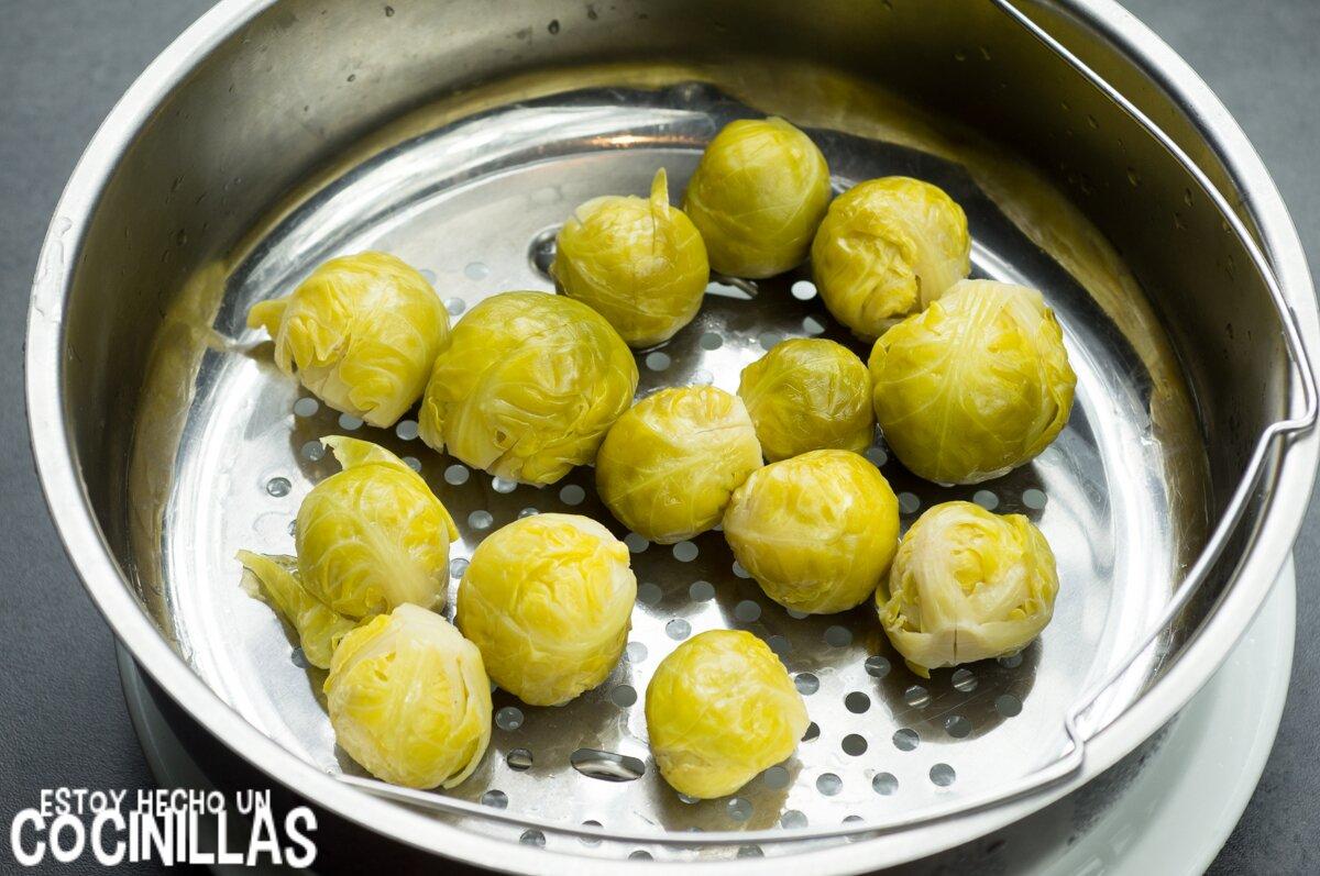 Cocer coles de Bruselas