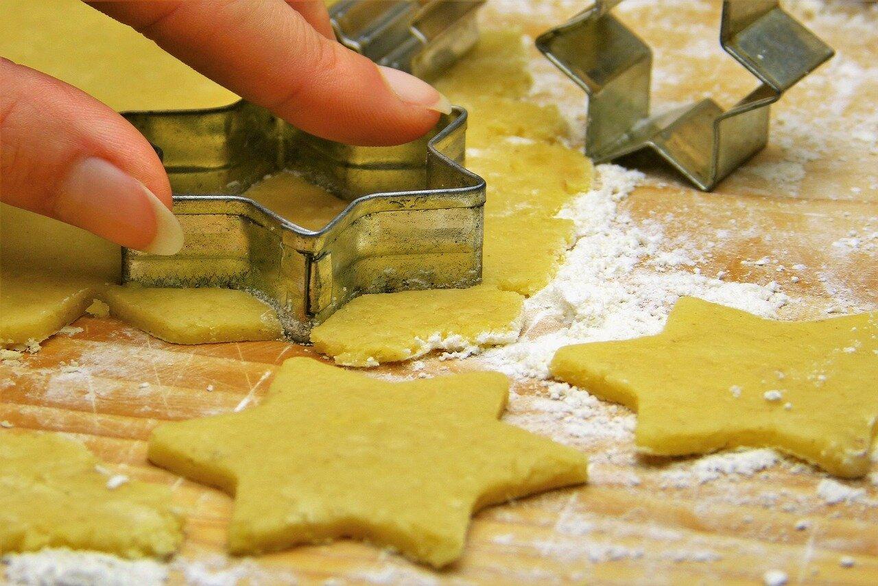 Cortador galletas rellenas de chocolate