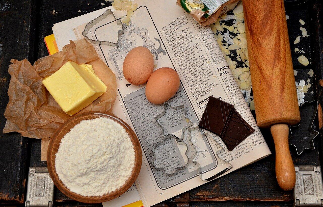 Ingredientes galletas rellenas de chocolate
