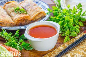 Receta de salsa agridulce china casera