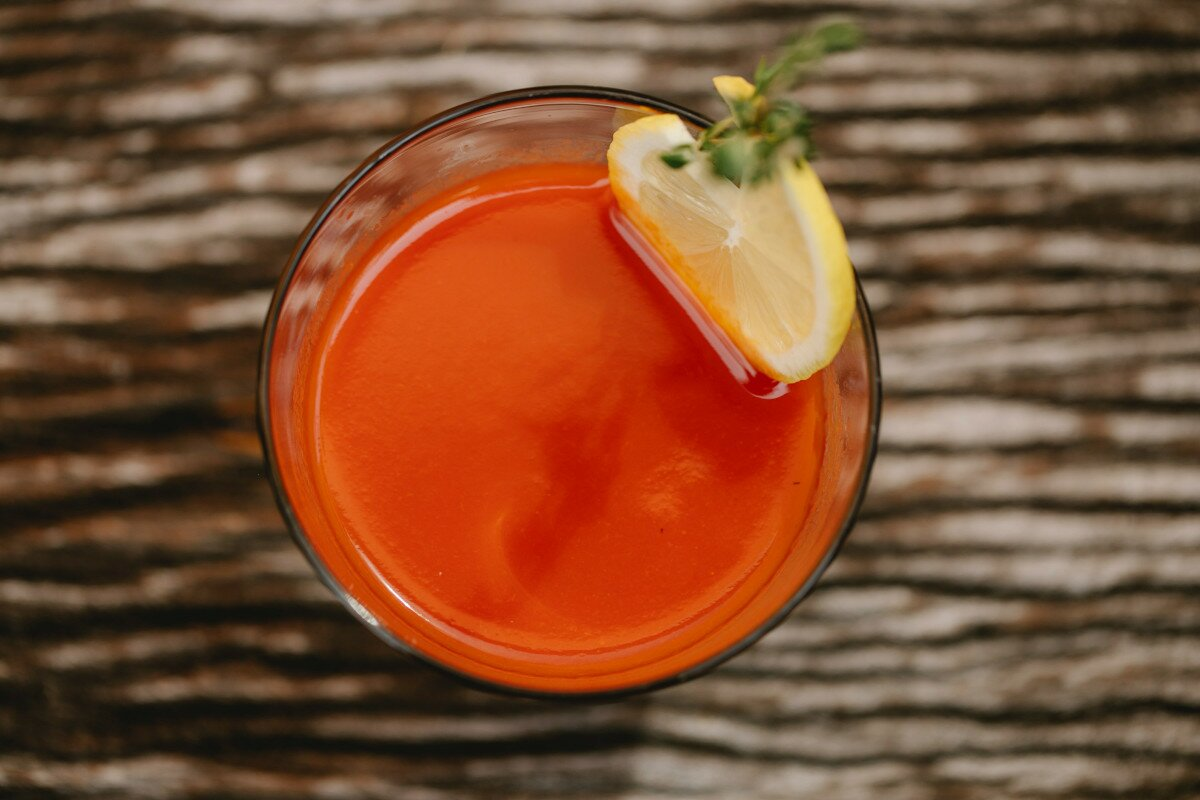 Cómo hacer zumo de tomate