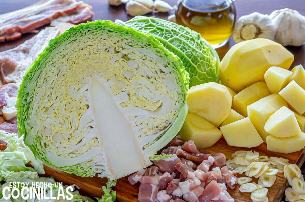 Trinxat de la Cerdanya (ingredientes)