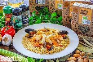Cuscús siciliano de pescado y marisco