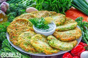 Tortitas de Bimi® y salmón ahumado